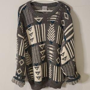 Vintage cozy winter sweater